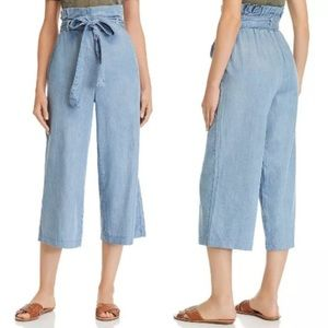 Blank NYC High Waist Wide Leg Paperbag Jeans